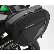 Kawasaki 017BRU0044 / Z800 2016 Valigie laterali semi-rigide Staffe valigie s...