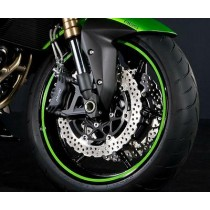 Kawasaki 197BWT0004 / Z750R 2011 STRISCE ADESIVE PER CERCHIONE (RUOTA SINGOLA...