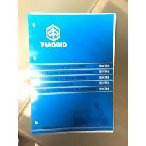 594745  PIAGGIO VESPA ET4 50 INIEZIONE    CATALOGO PARTI DI RICAMBIO