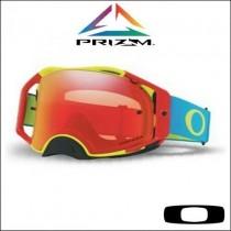 Oakley Airbrake MX Prizm™ RGB - Lente Torch OO7046-72