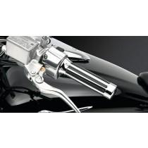 Kawasaki K53020226 / VN2000 Classic 2010 MANOPOLE RIGATE PER MANUBRIO Cromate...