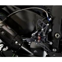 Kawasaki 075FRR0003 / Ninja ZX-6R 2016 Pedane regolabili